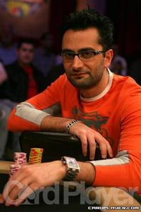 Esfandiari Competes At NBC Heads-Up Championship