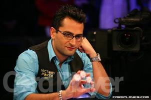 Esfandiari At One Of His Three WPT Five-Diamond Final Tables