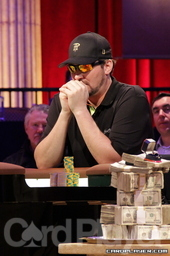 Runner-up Phil Hellmuth