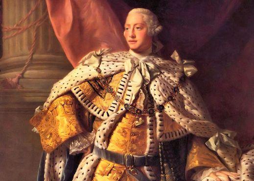 King George III. Credit: Wikipedia