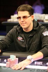 Noah Schwartz at a WPT Final Table