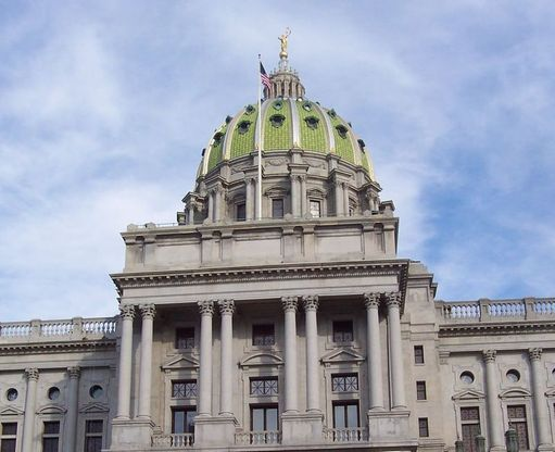 PA State Capitol. Credit: Wikipedia