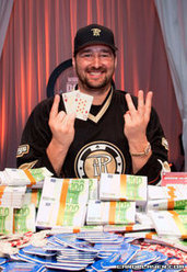 2013 WSOPE Champion Phil Hellmuth