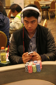 Day 1C Chip Leader Mark Nguyen