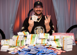 Hellmuth won the WSOPE main event last year