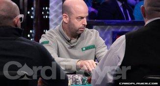 Amir Lehavot at the WSOP Final Table