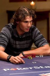 Rafa Nadal at the tables