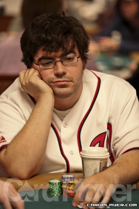 Ed Miller at the World Series of Poker