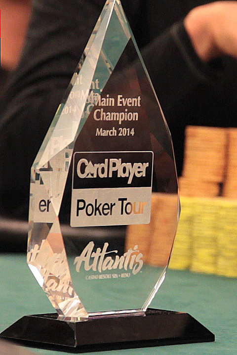 Who emerged victorious as the 2014 CPPT Atlantis champion?