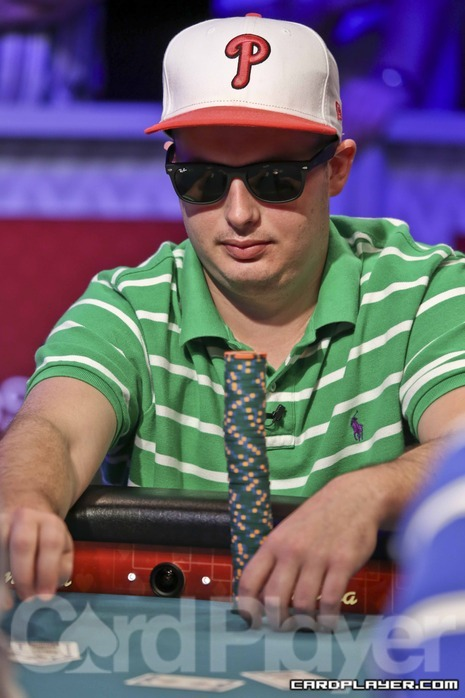 Paul Volpe at the WSOP