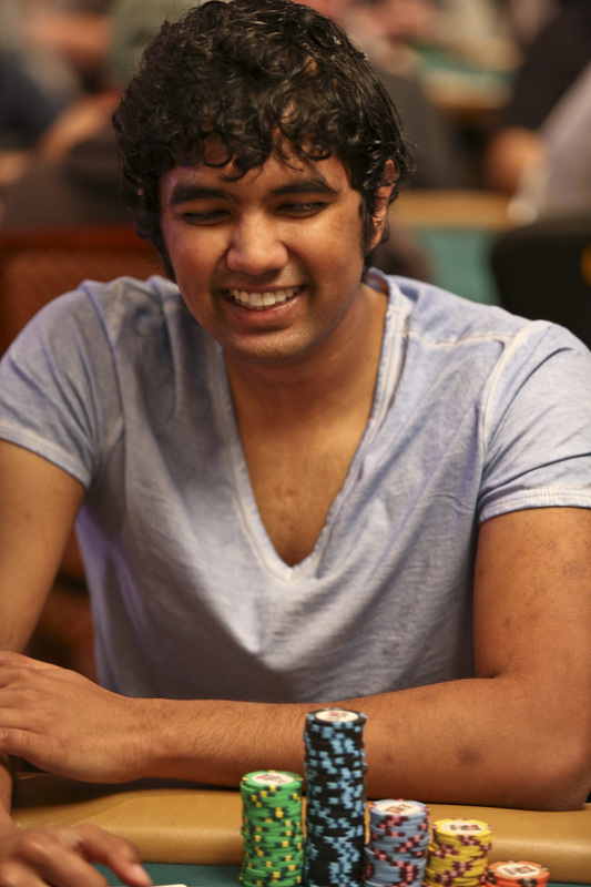 Pratyush Buddiga at the WSOP