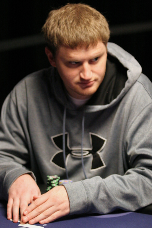 Peters at an Epic Poker League Event