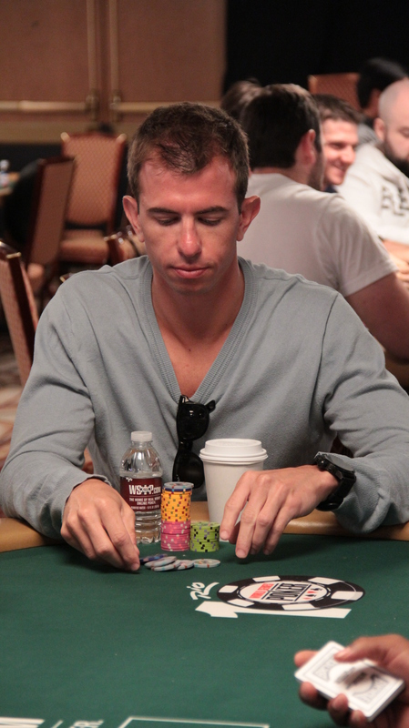 Shorr playing day 1 of the WSOP $25,000 mixed-max NLH