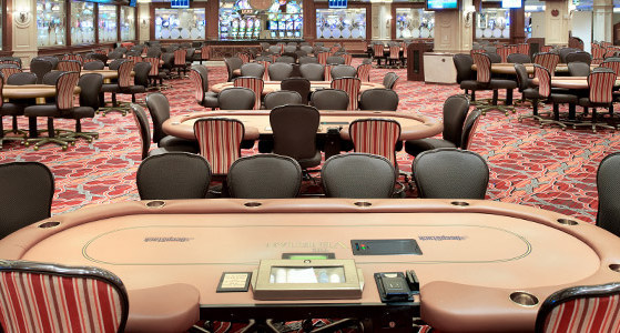 The Sands Poker Room At The Venetian