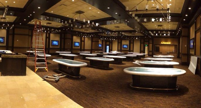 Maryland live poker room tables