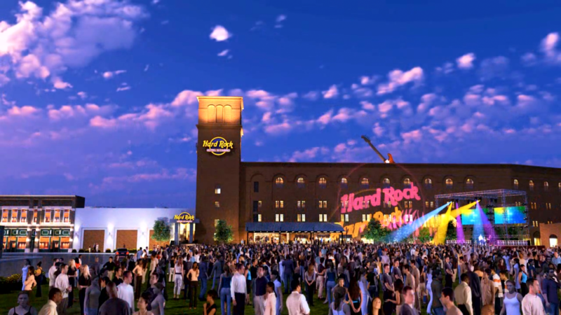 Hard Rock Casino Hotel Opens In Downtown Sioux City