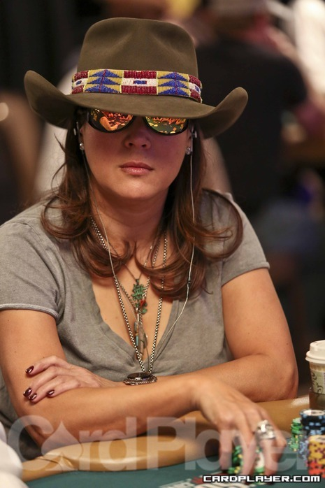 Jennifer Tilly at the WSOP