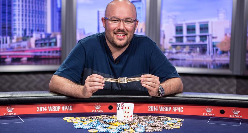 Scott Davies Wins 2014 World Series of Poker Asia Pacific