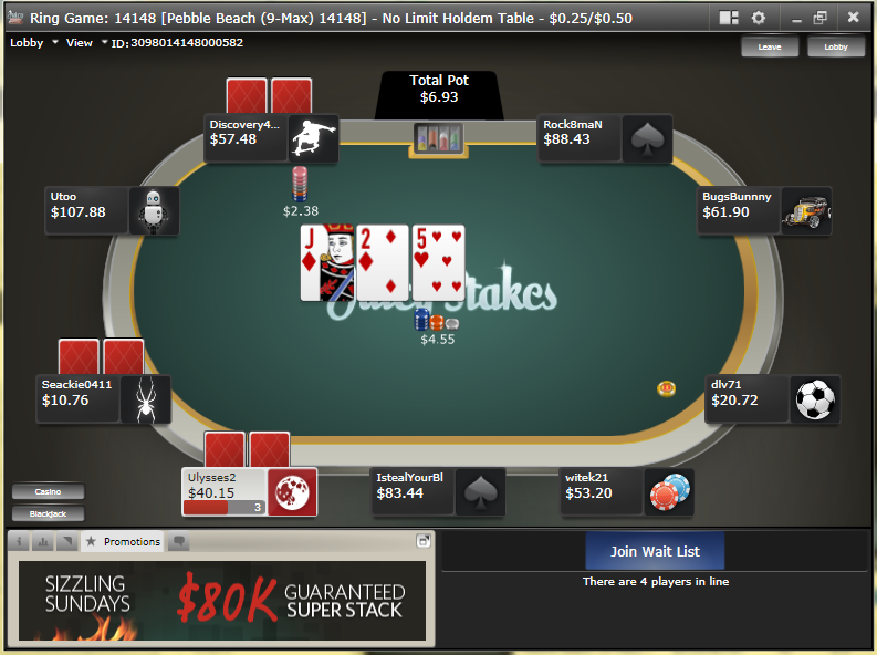 juicy stakes poker reload bonus