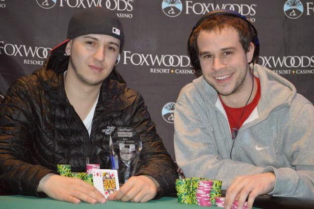 Marsel Backa (left) and Brad St. Vincent