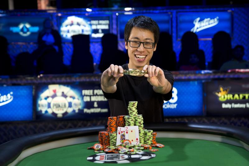 Michael Wang Wins Event No. 2