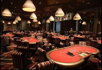 Aria's Poker Room