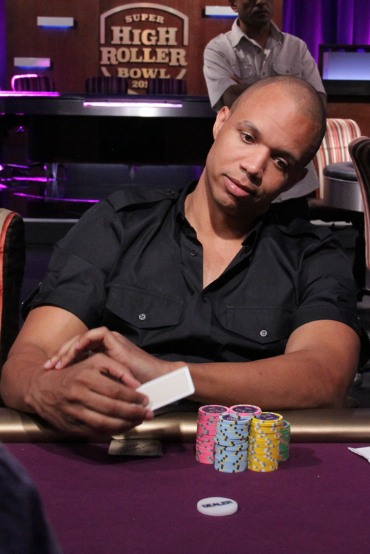 Phil Ivey, eliminated on day 1