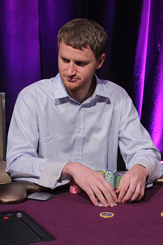 Day 1 chip leader David Peters