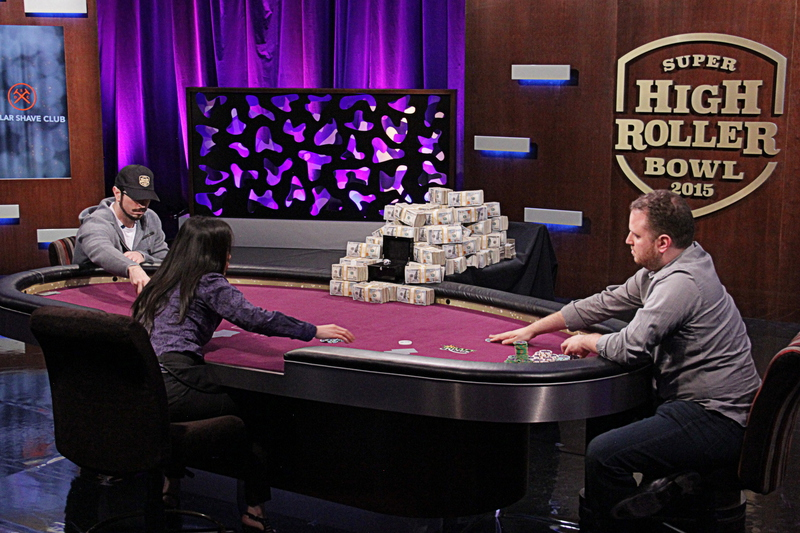 Rast and Seiver heads-up for the title