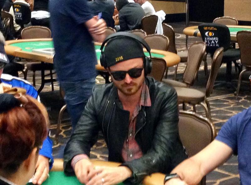 Hasil gambar untuk Aaron Paul poker