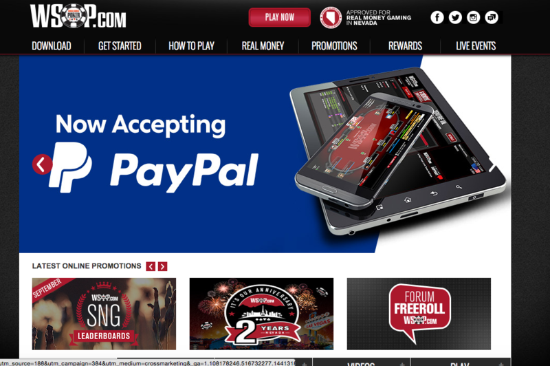 Online bookmakers that accept PayPal (outside US)