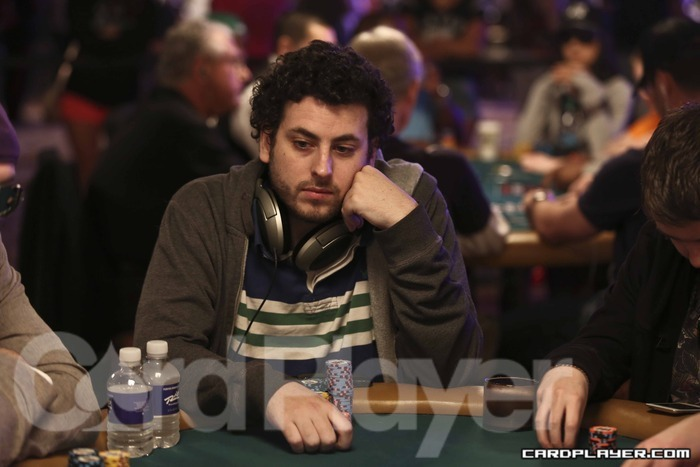 Jacob at the WSOP in 2012