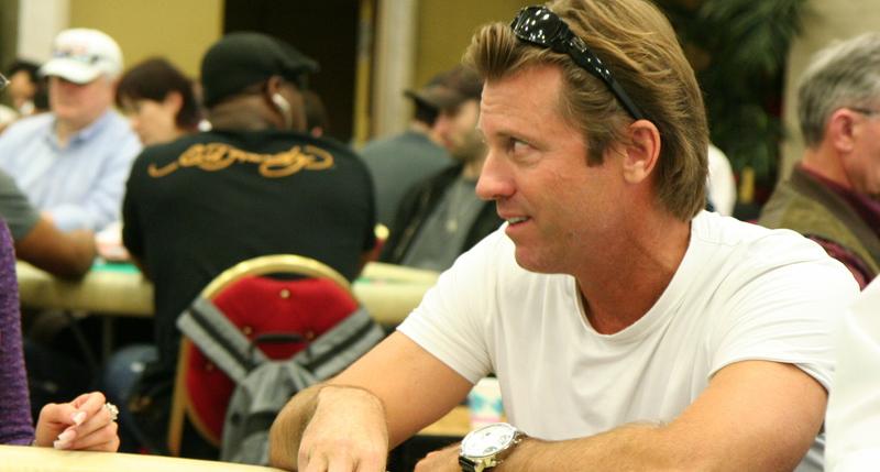 Vince Van Patten at the Commerce Casino
