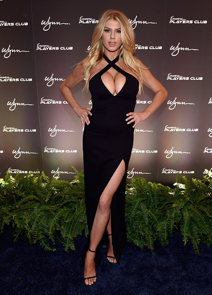 Charlotte McKinney at the Grand Opening Party