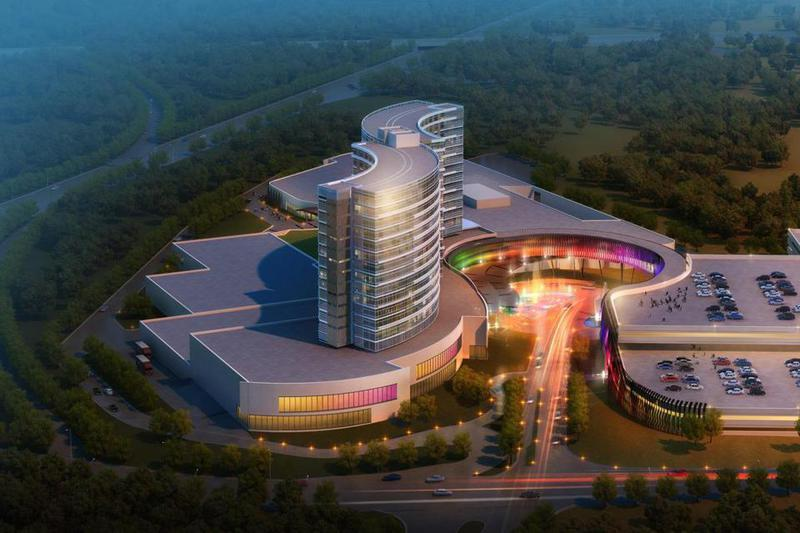 Artist Rendering Of Proposed Casino