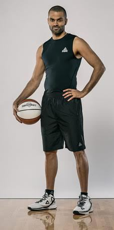 San Antonio Spurs Point Guard Tony Parker