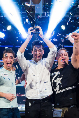 2015 EPT Grand Final main event champ Adrian Mateos Diaz