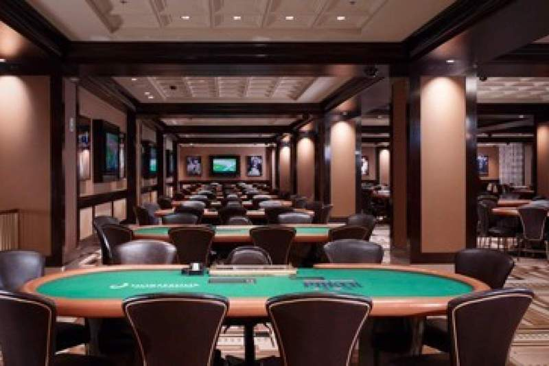 The Casino's Poker Room