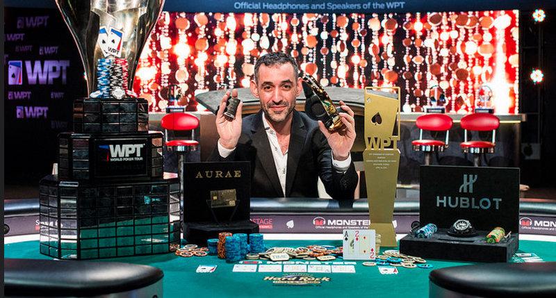 Winner of the world poker tournament blackjack kevlar gloves