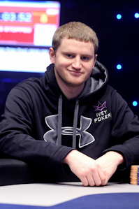 David Peters now sits in 7th after making his 8th final table