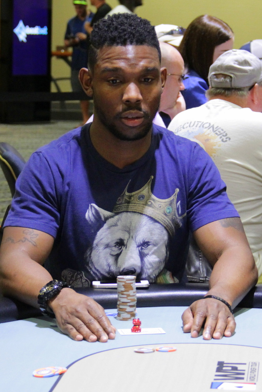 Final Table Chip Leader Brian Woods
