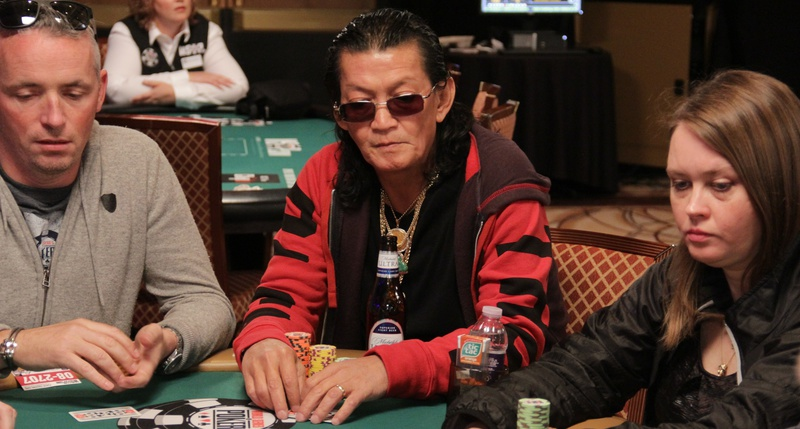 Nguyen at the 2016 WSOP