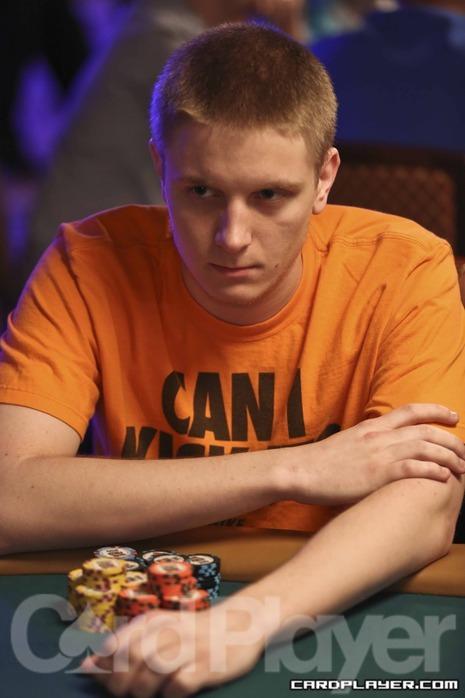 Sam Soverel at the WSOP