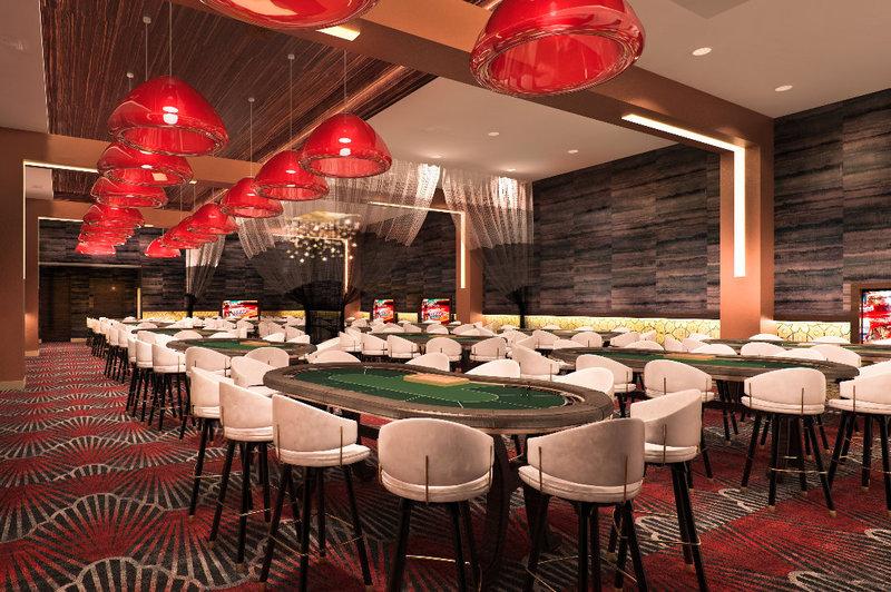 High-limit poker room