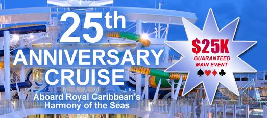 CardPlayer Cruises 25th Anniversary