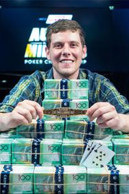 Ari Engel wins the Aussie Millions