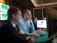 Computer Scientist Tuomas Sandholm And Poker Pro Jason Les