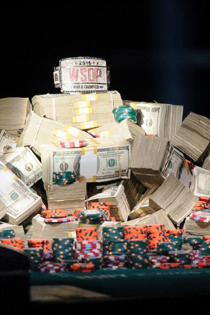 The WSOP bracelet and the money