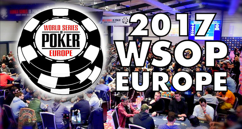 world series of poker 2017