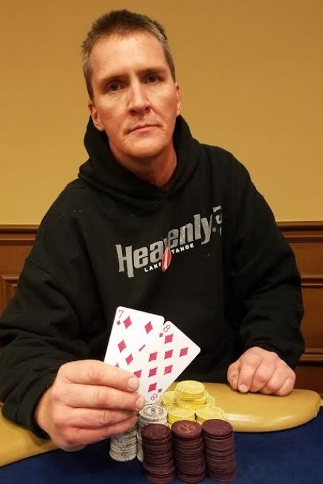2017 CPPT Ocean'1 11 January event winner Barry Knowlton